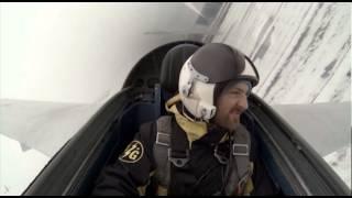 видео полет на самолете