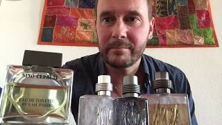 My Top 5 Cerruti fragrances