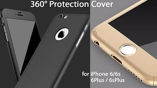 360° Protection Cover for iPhone 6 / 6Plus / 6s / 6sPlus