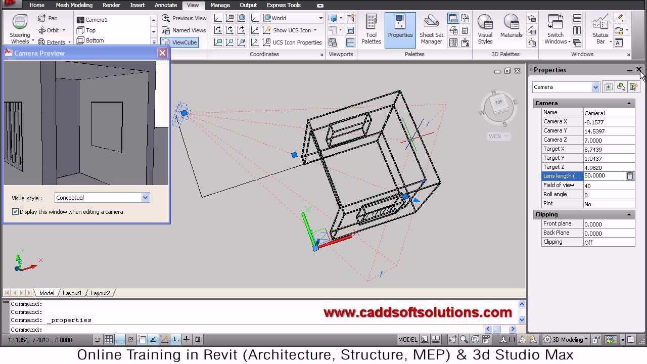 Autocad 2d to 3d conversion tutorial | autocad 2010 youtube.