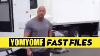 """FAST & FURIOUS 6"" BTS Tyrese Calls Out The Rock"