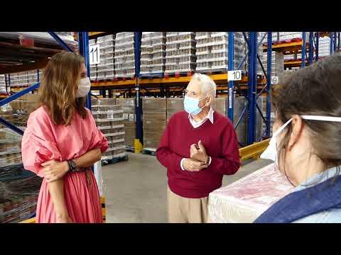 Emplead@s del Hospital La Arruzafa donan 7,4 toneladas de comida al Banco Alimentos Medina Azahara