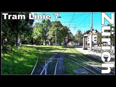 Vom Zürich HB nach Zürich Stettbach / Strassenbahn / Tram 7