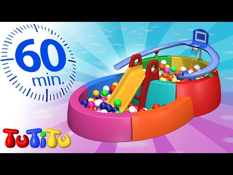 TuTiTu Specials | Ball Pit | And Other Popular Toys for Kids | 1 HOUR Special