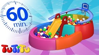 Repeat youtube video TuTiTu Specials | Ball Pit | And Other Popular Toys for Kids | 1 HOUR Special