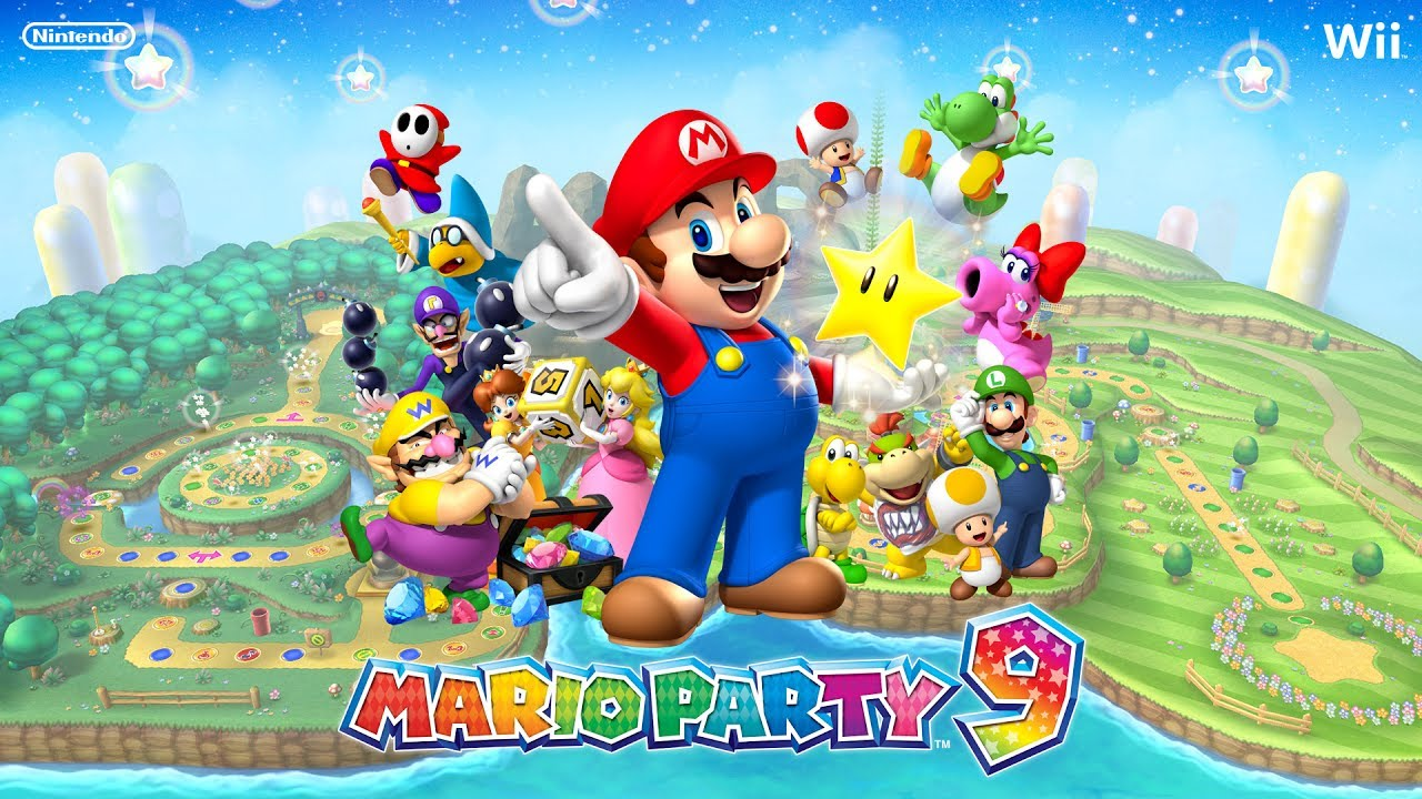 Mario Party 9 Toad Road Youtube