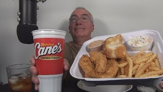 ASMR Eating Raising Cane's Chi¢ken Fingers for First Time