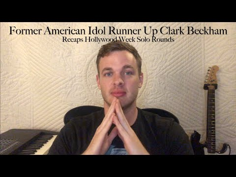 Former American Idol Runner Up Recaps Hollywood Week - Solo Rounds