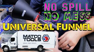 Matco Tools: Universal Funnel Kit No Spill, No Mess