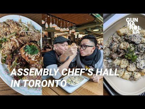 Assembly Chef's Hall: 17 Best Restaurants Under One Roof in Toronto