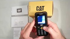 CAT B30 Test, Review, Unboxing