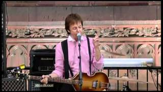 "Paul McCartney ""Get Back/Sing The Changes/Coming Up"" Live-2009"