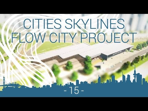 Cities: Skylines - EP 15 - modular central station
