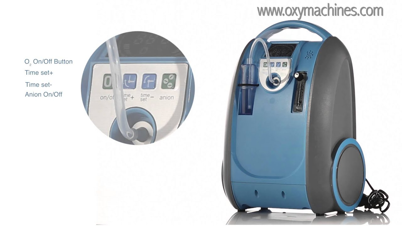 Lovego Portable Oxygen Concentrator Lg 101 Designed For