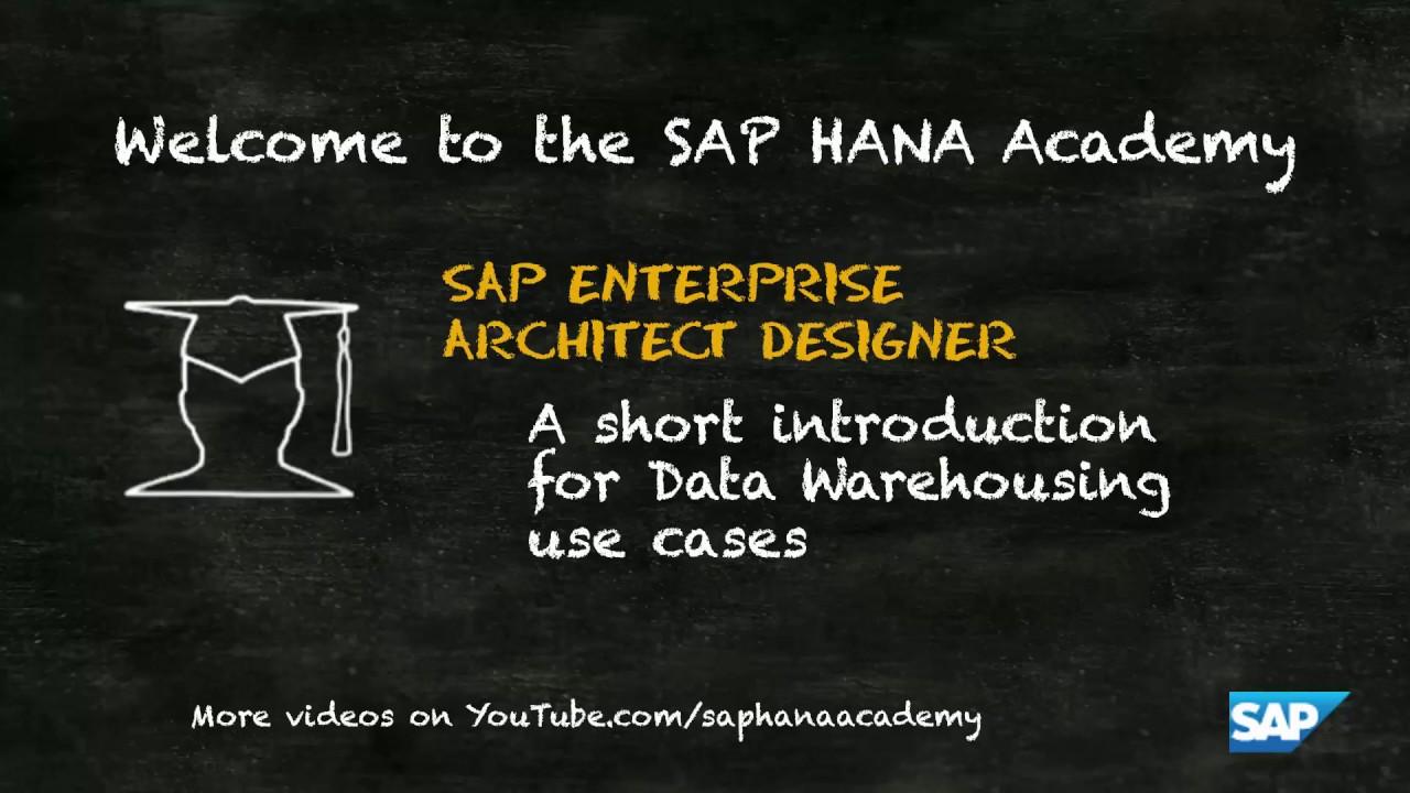 Designing your agile DW with EA Designer – SAP HANA SQL Data