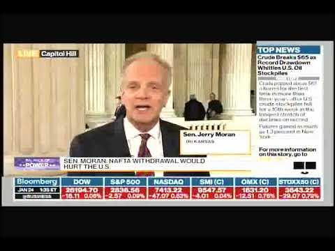 """Jerry Moran on NAFTA: """"It"""