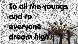 Dream High OST English Version Lyrics on screen