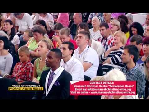 Prophet Austin Moses   Ukraine TV Broadcast
