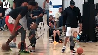 Steph Tried to Take Baby Canon's Ankles! Family Time with Dell Curry!
