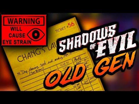 "Checking ""Old Gen"" Shadows For The Sal Deluca Ticket Easter Egg (WARNING EYE STRAIN)"