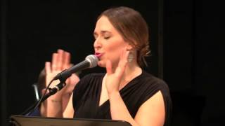 "Jessica Vosk performs ""Listen Please"" from the musical BREAD AND ROSES"