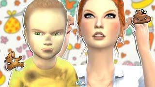 🍼 The Sims 4: O PRINCÍPIO DO CAOS   Desafio dos 7 Bebês #2