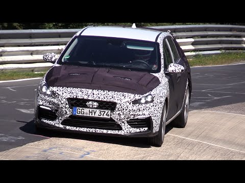 2018 hyundai n. exellent 2018 2018 hyundai i30 n sport testing on the nurburgring for hyundai n