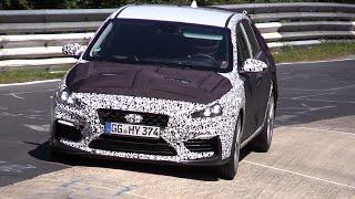 2018 Hyundai i30 N Sport Testing on the Nurburgring