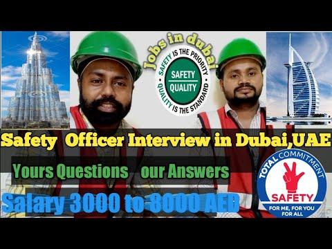 #Safetyinterview, #HSEInterview, Safety officer interview in Dubai, UAE (Part-2), Part 1 at the end