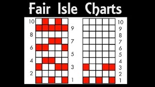 Fair Isle Knitting Charts | How to Read & Convert Charts | Tutorial for Beginners