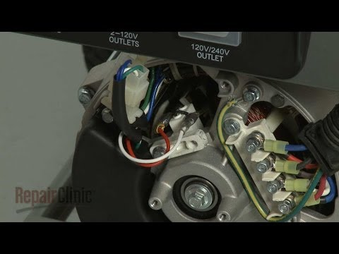 Brush Assembly - Briggs and Stratton Generator