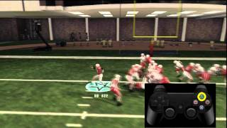 NCAA Football 12 Tips: Running Game-Stick Moves