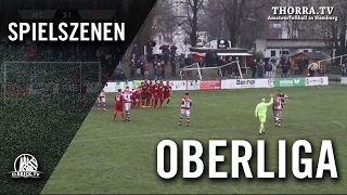 Altona 93 - FC Türkiye (Oberliga Hamburg) - Spielszenen | ELBKICK.TV