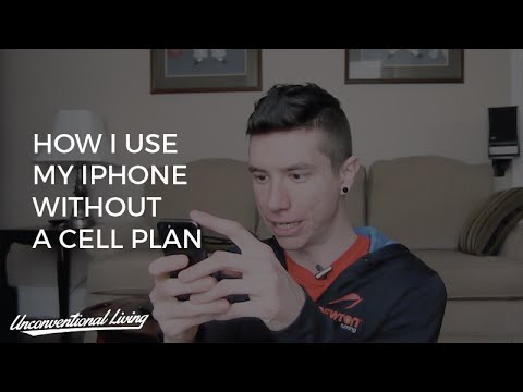 How I Use My iPhone Without A Cell Phone Plan or Phone Number