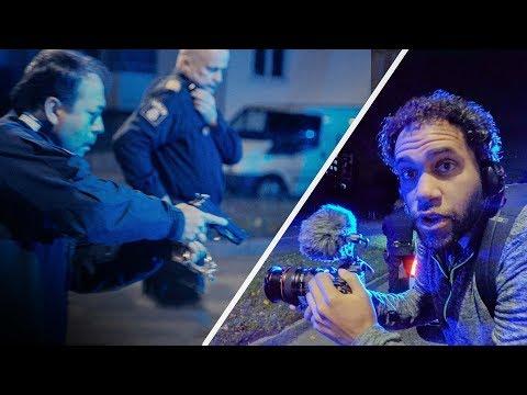 Polisen griper farlig knivman med dragna vapen! | Riley Praktiserar