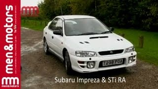 Richard Hammond Reviews The Subaru Impreza & STi RA