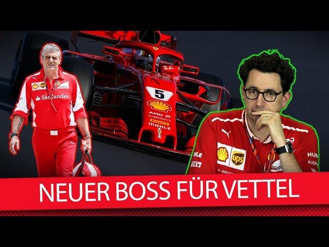 Ferrari-Teamchef entlassen: Wer ist Vettels neuer Chef? (News)
