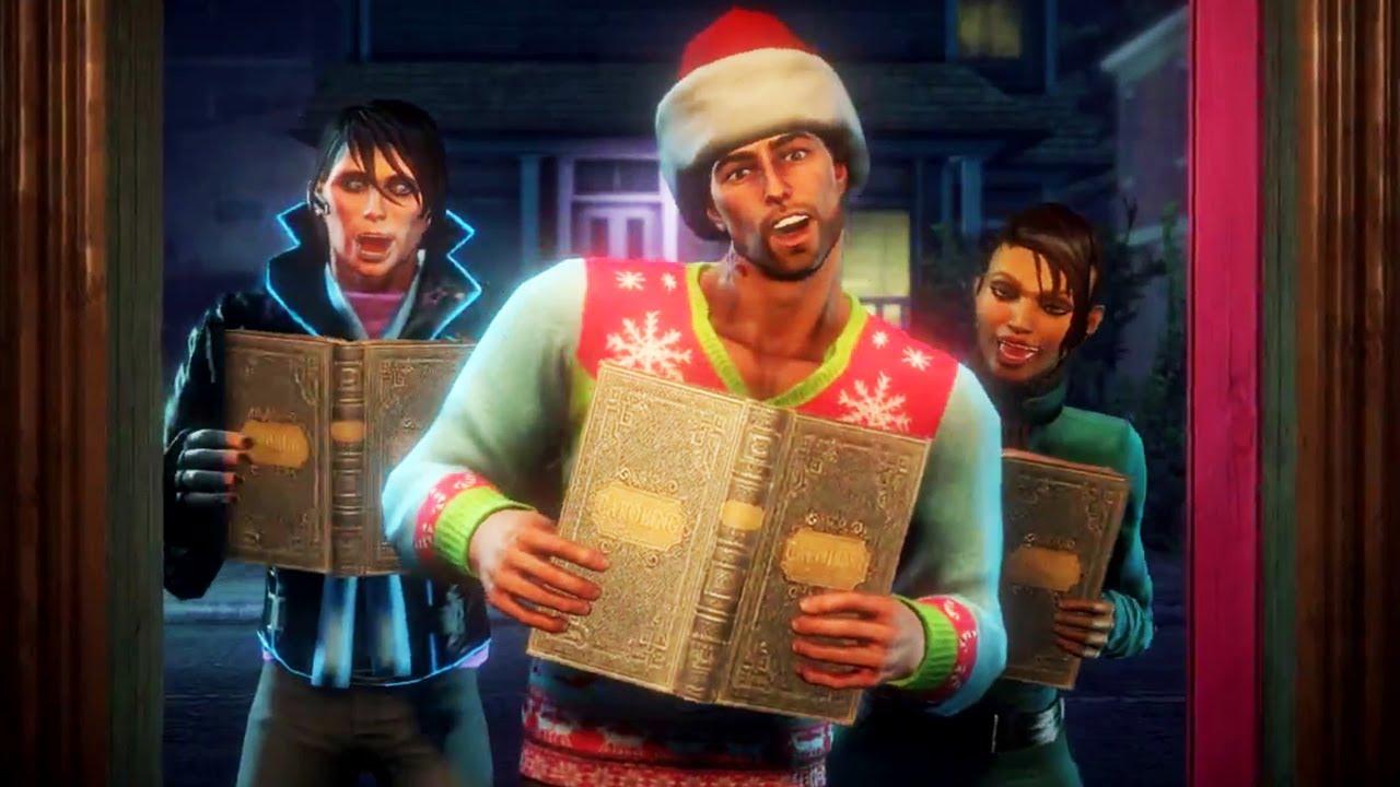 Saints Row 4 How The Saints Saved Christmas Trailer - YouTube