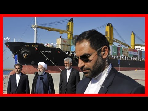 News-Iran officially inaugurated the new extension to the main Arabian Sea port