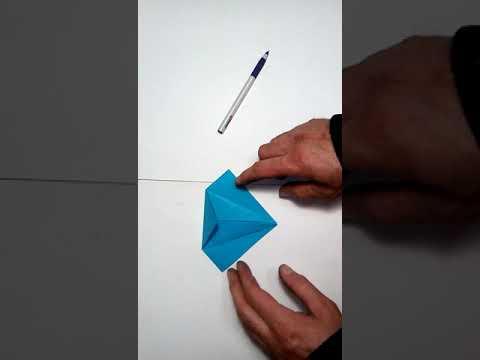""""""" Ворона"""" занятие 16. Уроки оригами для детей"""