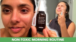 I Tried A Non-Toxic Morning Routine