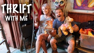 This Old Church is LOADED with Antiques and Vintage | Thrift with Me | Reselling