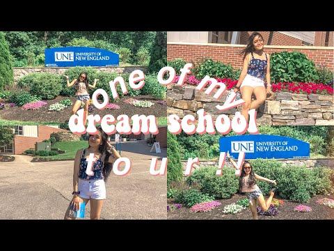 University Of New England Tour!!!