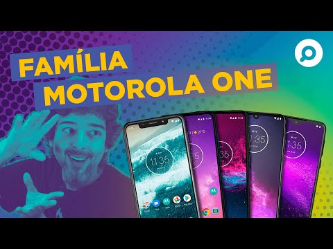 Explicando a Família MOTOROLA ONE - Moto One, One Vision, One Action, One Zoom e One Macro