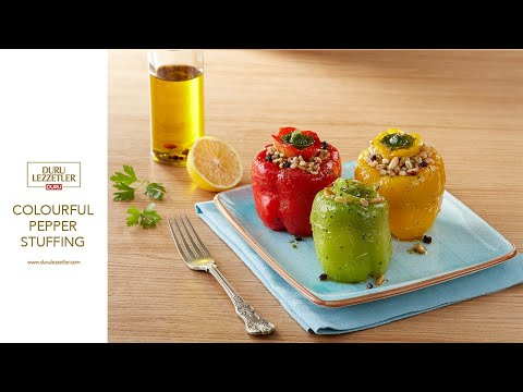 Colourful Pepper Stuffing