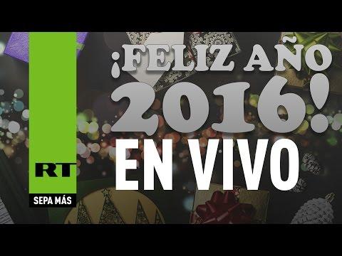 Así fueron las celebraciones de la llegada del 2016 en el mundo