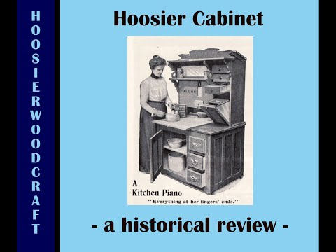 Hoosier Cabinet, a historical perspective