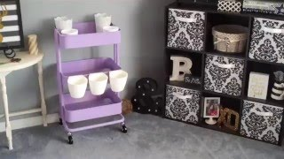 The Making Of My First Lavender Raskog Cart from IKEA!