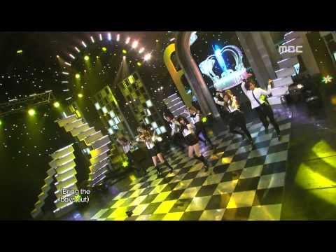 Girls' Generation SNSD - The Boys 소녀시대 - 더 보이즈 Music Core 20111119