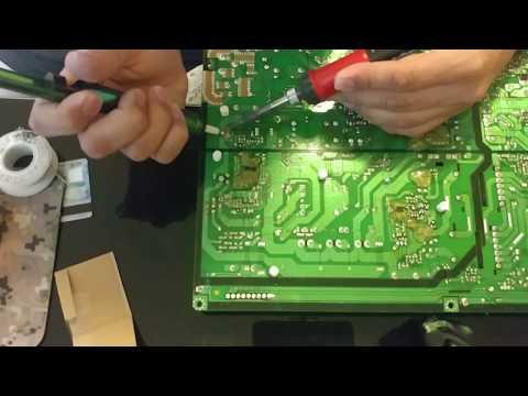 Repair the best plasma TV ever F8500 Samsung no power